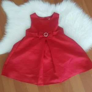 Perfectly dressed infant valentines dress red 12M
